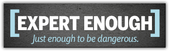 Expert Enough logo